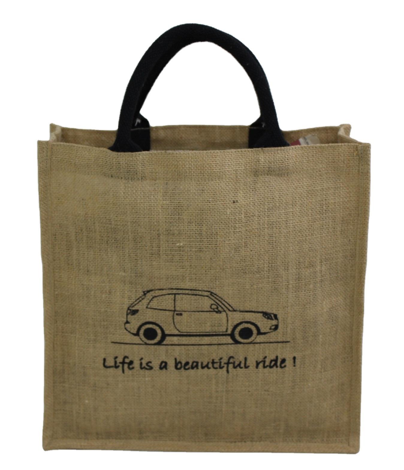 Jute Bag For Promotion & Shopping