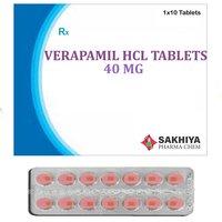 Verapamil Hcl 40mg Tablets
