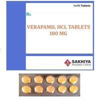 Verapamil Hcl 180mg Tablets