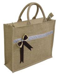 Pp Laminated Natural Jute Gift Bag