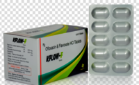Ofloxacin 200mg & Flavoxate Hydrochloride 200mg Tablets