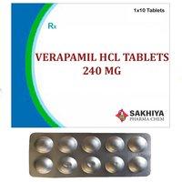 Verapamil Hcl 240mg Tablets