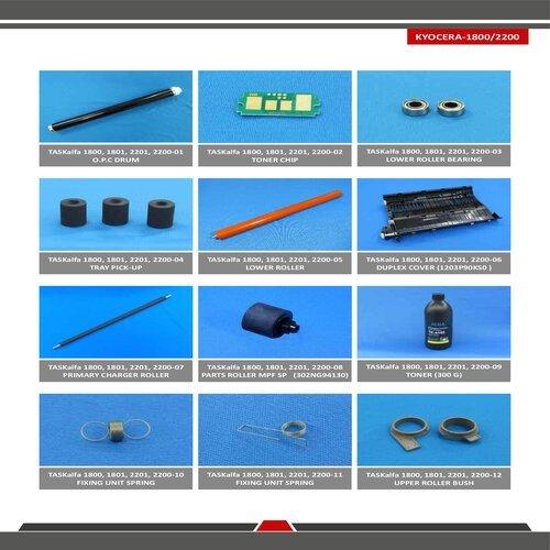 Kyocera Task Alfa 1800 / 1801 /2200 / 2201 Spare Parts