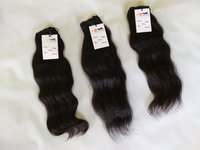 Wholesale Silky Remy Curly/wavy Indian Machine Double Weft Cambodian Virgin Human Hair