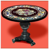 Round Shape Marble Dining Table