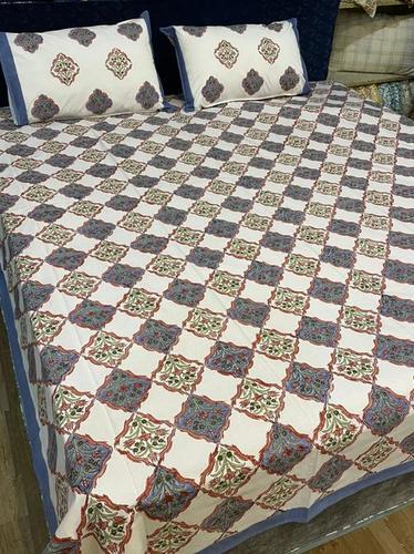 Hand Block Printed Bedsheet