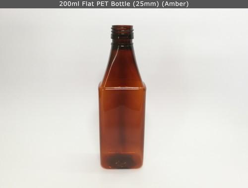 200ml Flat PET Bottle