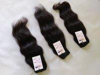 Natural Raw Unprocessed Mink Machine Wefted Virgin Wavy/curly/straight/bodywave Human Hair Bundle