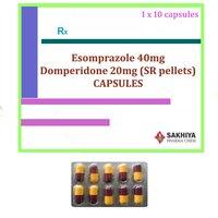 Esomeprazole 40mg + Domperidone 20mg (SR pellets) Capsules
