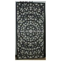 Expensive Mother Of Pearl Flower Design Table Top For Living Room Decorative