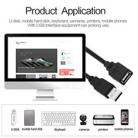 Terabyte 1.5 Meter Male Female USB Extension Cable