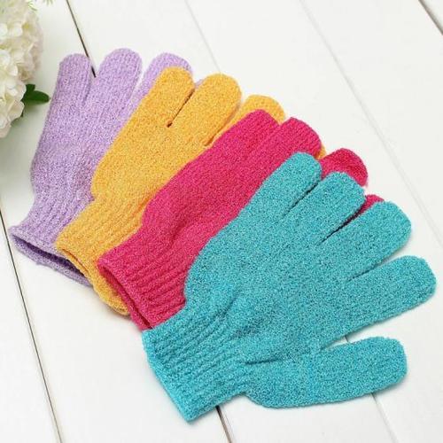 6~24 PCS Exfoliating Spa Bath Gloves Shower Soap Clean Hygiene Wholesale Lots