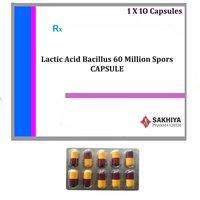Lactic Acid Bacillus 60 Million Spors Capsules
