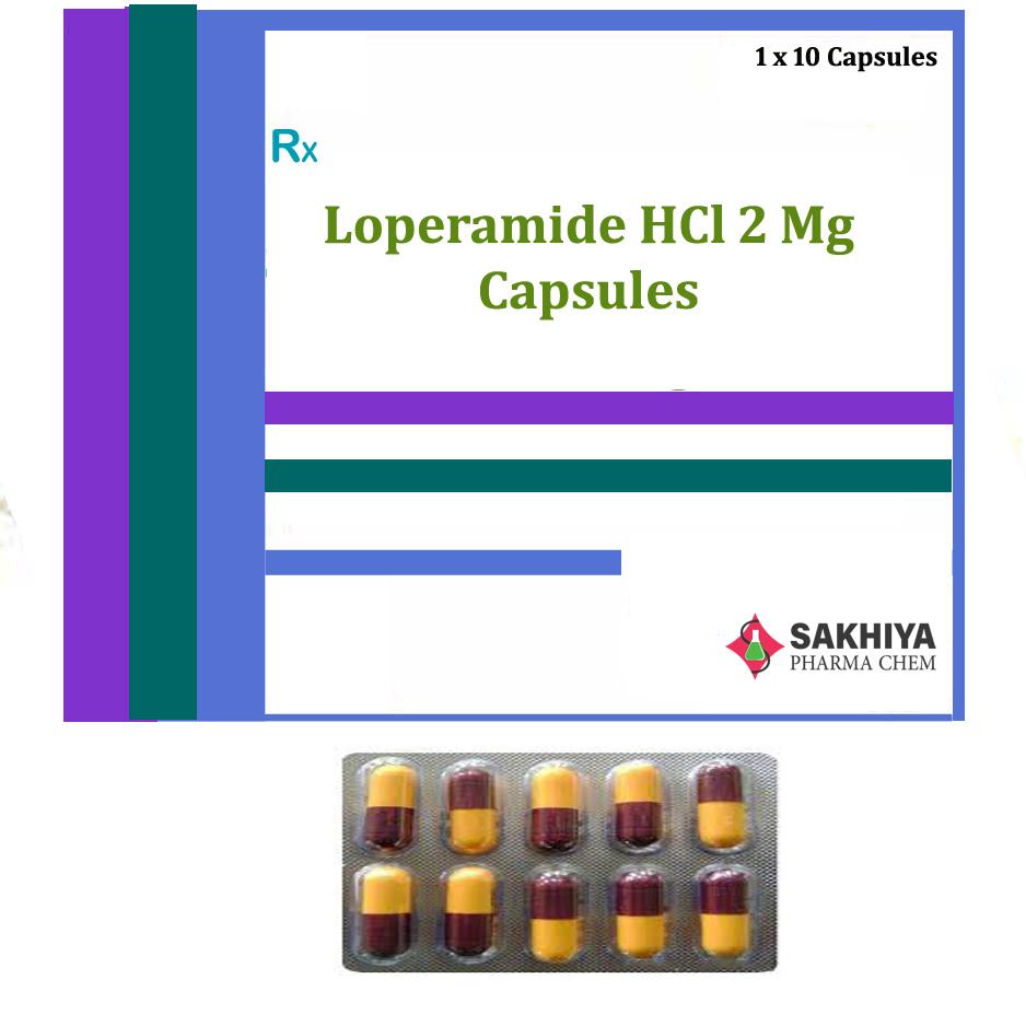 Loperamide Hcl 2mg Capsule