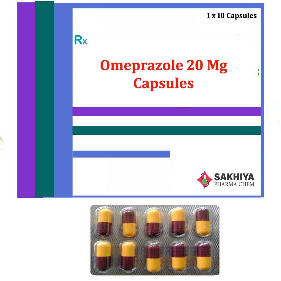 Omeprazole 20mg Capsules