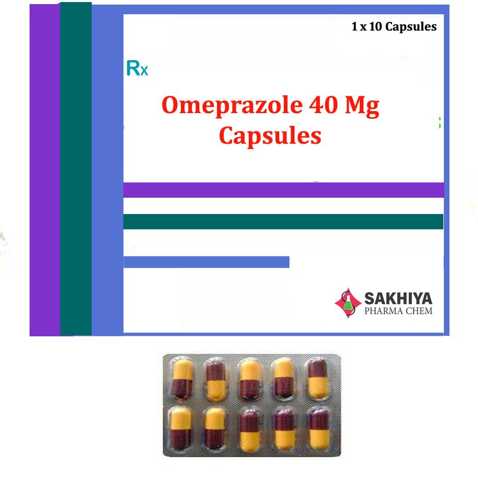 Omeprazole 40mg Capsules