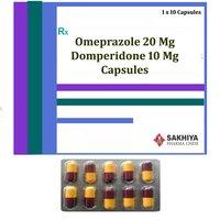 Omeprazole 20mg + Domperidone 10mg Capsules