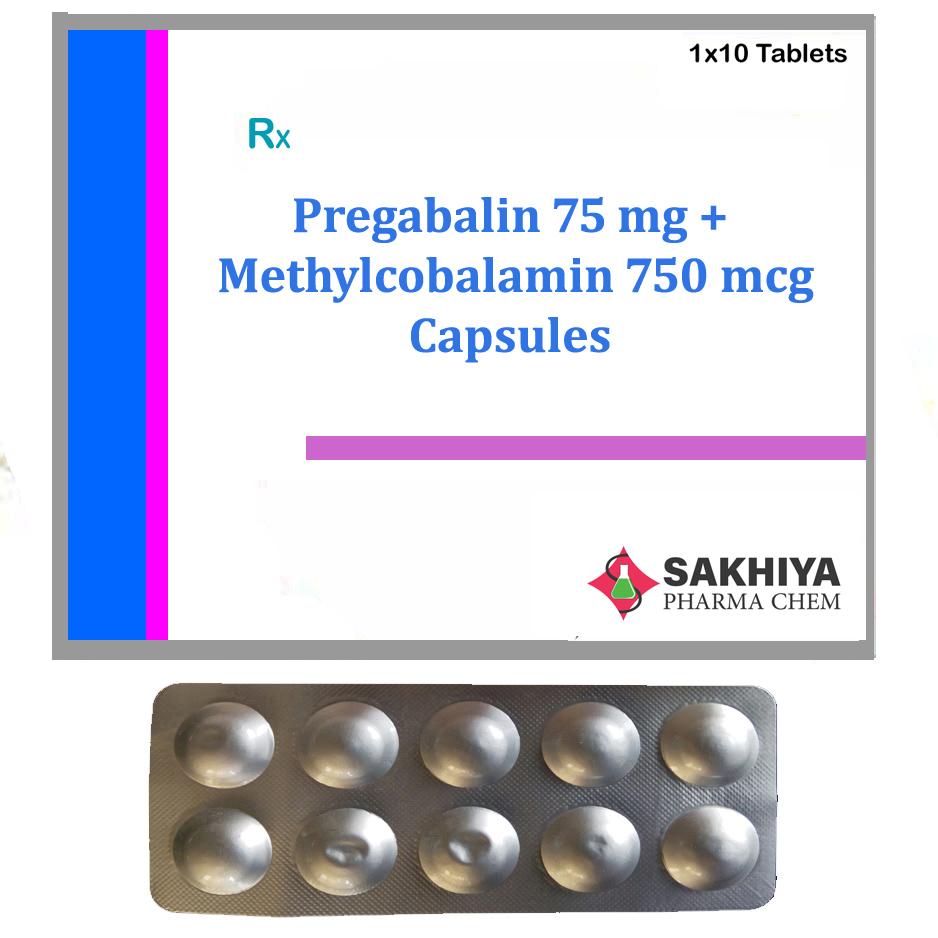 Pregabalin 75mg + Methylcobalamin 750mcg Capsules