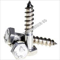 Stainless Steel Hex Head Coach Screw