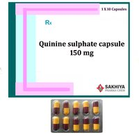 Quinine Sulphate 150mg Capsule