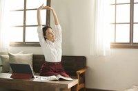 Premium Stretch Easy Care 3/4 Sleeve Bodysuit Shirt White
