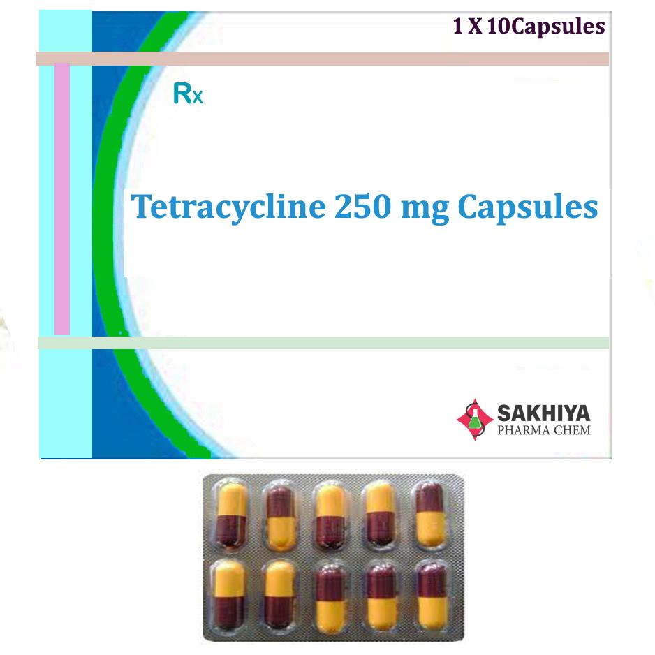 Tetracycline 250mg Capsules