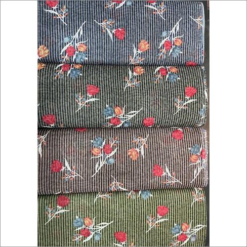 Designer Print Brasso Fabric