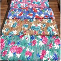 Floral Print Brasso Fabric