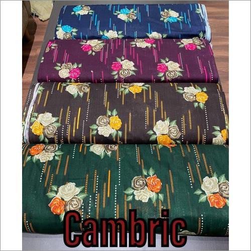 Printed Cambric Fabric