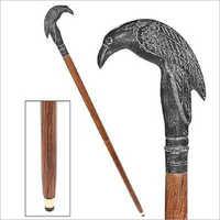 Poes Mystic Raven Walking Stick