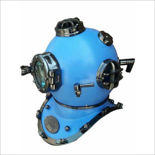 18 Inch US Navy Diving Helmet Mark V Deep Sea Divers Helmet