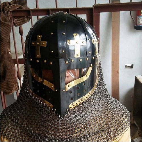 Battle Ready Crusader Face Plate Spectacle Helmet