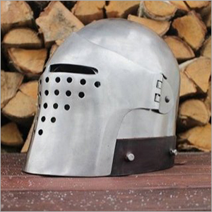 Medieval Italian Bascinet Helmet