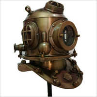 Vintage Full Size US Navy Mark V Divers Helmet