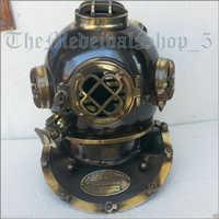 US Navy Mark V Antique Diving Helmet