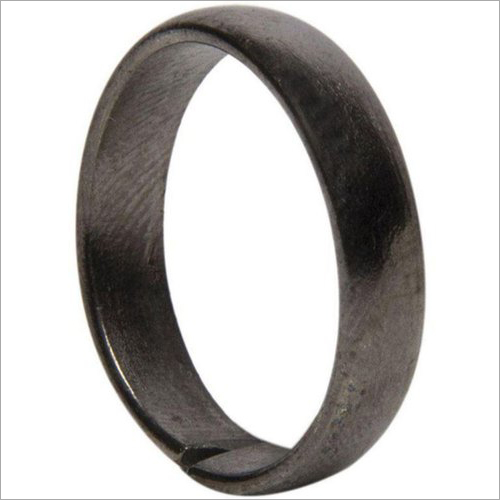 Black Horse Shoe Iron Shani Rings