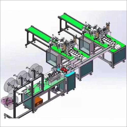 Non Woven Face Masking Manufactruing machine