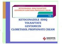 Ketoconazole  Idhq Tolnaftate Gentamicin Clobetasol Propionate Cream