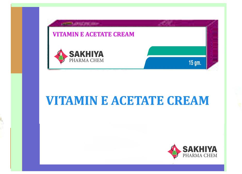 Vitamin E Acetate Cream