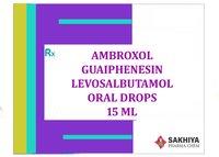 Ambroxol Guaifenesin Levosalbutamol 15ml Oral Drops