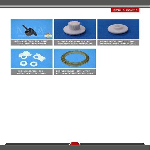 Konica Minolta Bizhub 215 / 195 Spare Parts