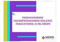 Phenylephrine + Cpm & Paracetamol Drops