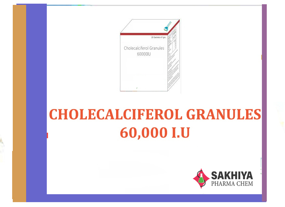 Cholecalciferol Granules 60,000 I.U Powder