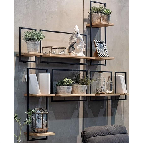 Wooden And Metal Wall Hanging Slabs