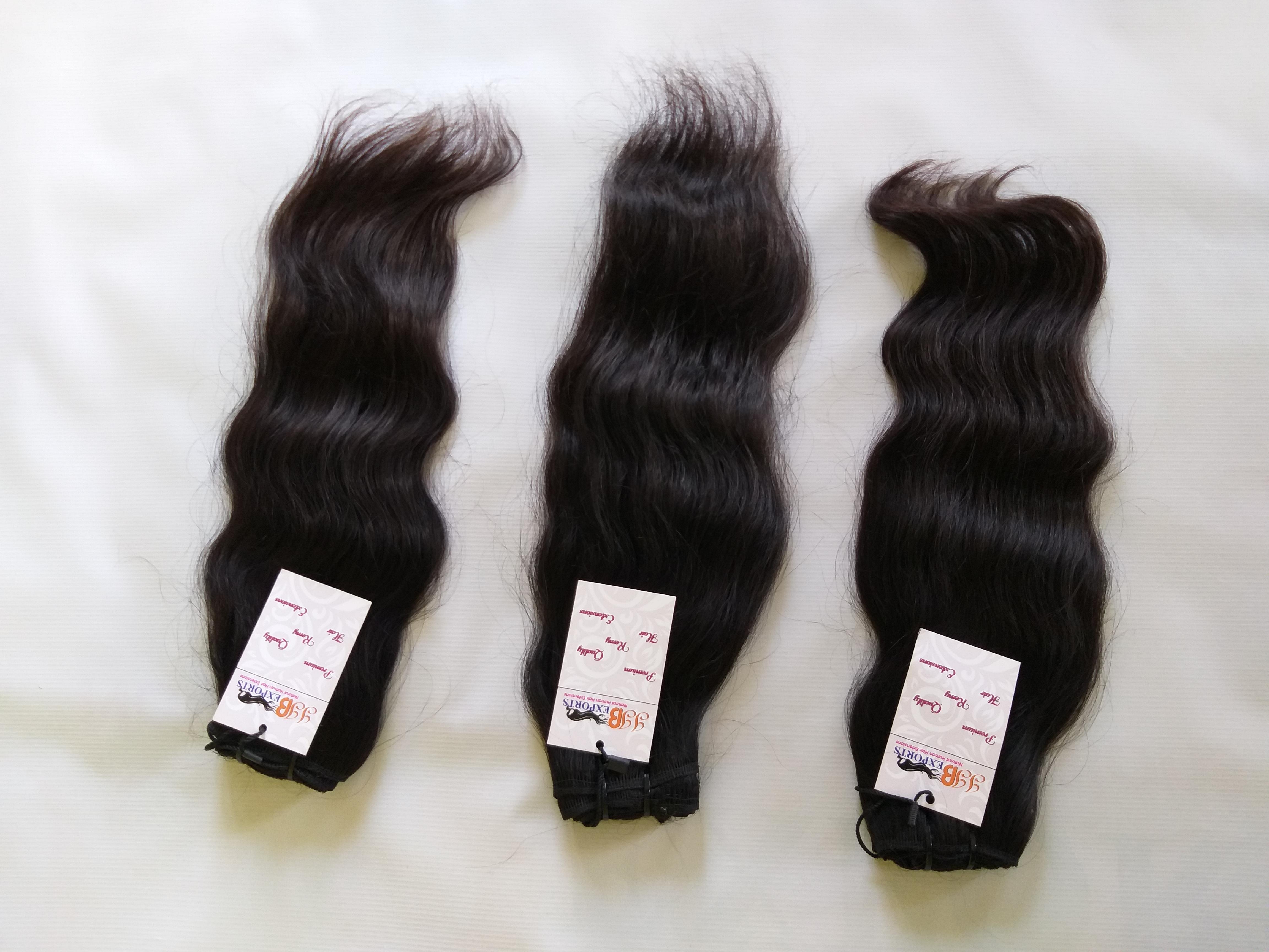 100% Raw Virgin Indian Human Hair,10A Grade Hair Peruvian Virgin Wavy Straight Human Hair Extensions