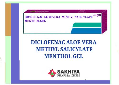 Diclofenac Aloe Vera Methyl Salicylate Menthol Gel