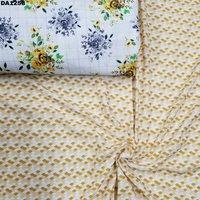 4 Way Bubble Dobby Silk Digital Print Fabric