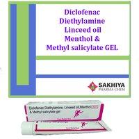 Diclofenac Diethylamine Linceed Oil Gel