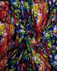 Khadi Rayon Silk Digital Print Fabric