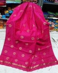 Cotton silk boll saree
